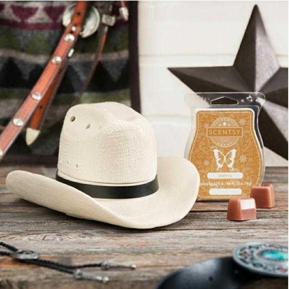 Wax warmer cowboy/cowgirl hat
